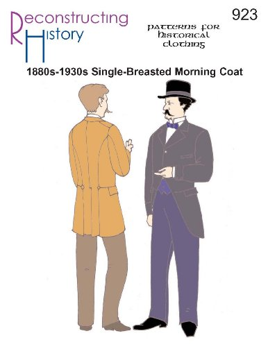 (1880s-1930s Single-Breasted Morning Coat )