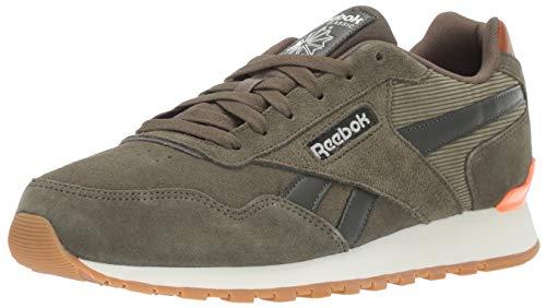 Reebok Men's Classic Harman Run Sneaker, Army Green/Dark Cypres, 10 M US