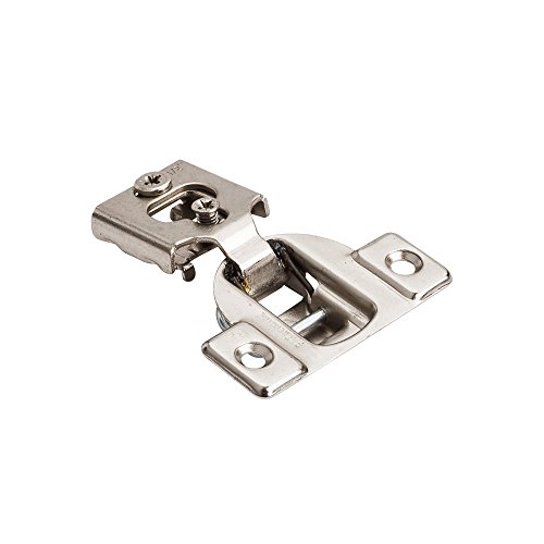 "20- Pack-3 Way Adjustments- 1/2"" Overlay-Compact Hinges"