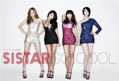 SISTAR [SO COOL] 1st Album CD+Photobook+Tracking Number K-POP SEALED