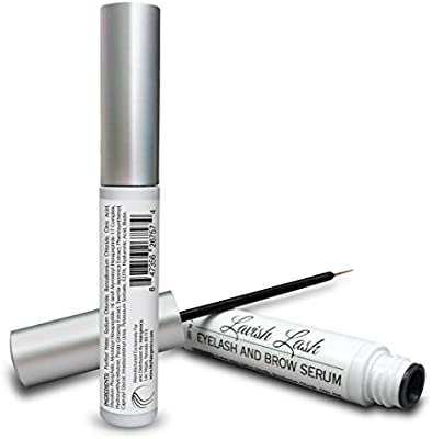 Pronexa Hairgenics Lavish Lash - Eyelash Growth Enhancer & Brow Serum with Biotin & Natural Growth Peptides for Long, Thick Looking Lashes and Eyebrows! Dermatologist Certified & Hypoallergenic.