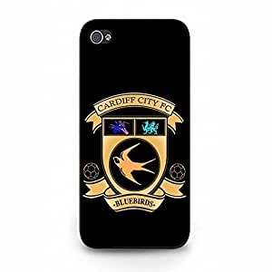 New Style Cardiff City Football Club Phone Case For Iphone 5/5S Cardiff City FC Cool Logo