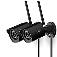 Zmodo 1080p Full HD Outdoor Weatherproof WiFi Wireless Security Camera System - 2 Pack - Cloud Service Available