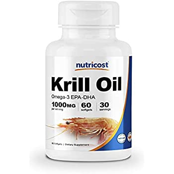 Amazon.com: Krill Oil Suplemento 1000 MG - Aceite de Krill ...
