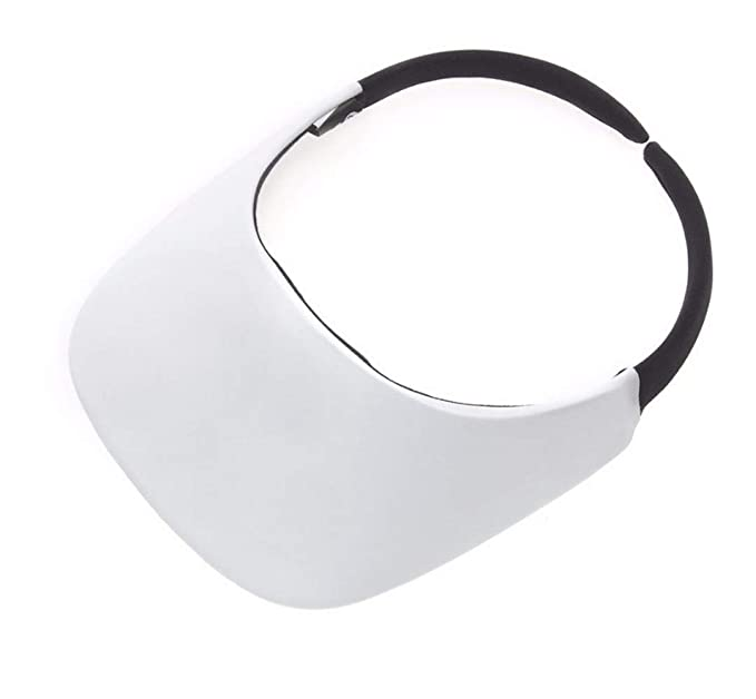 b166bee5 Image Unavailable. Image not available for. Color: No Headache Original  Visor White