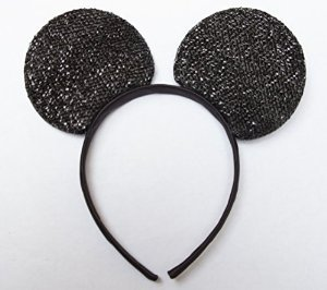 Disney Themed Costumes Male (Mickey Mouse Ears Sparkle Design)