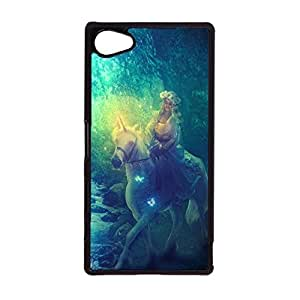 Sony Xperia Z5 Compactphone Case Forest Landscape Wallpaper Back Case Snap on Sony Xperia Z5 Compact Stylish Design Cover Case