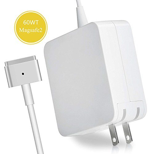 Mac Book Pro Charger,Peplacement for MacBook Pro Charger with 13 Inch Retina Display Ac 60W Magsafe 2 Power Adapter 60w Universal Ac Adapter