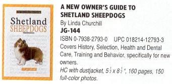 Dog Book Shetland Sheepdog - TFH owners Guide shetland shpdog