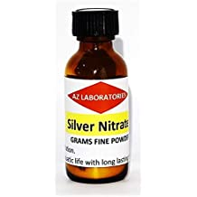 Silver Nitrate Crystals/Powder / 25 Grams/Finest Quality / 99.99% / USA Made/Same Day Ship
