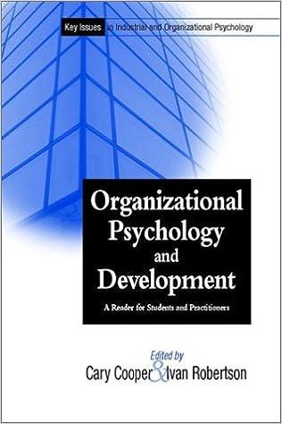 organizational psychology topics