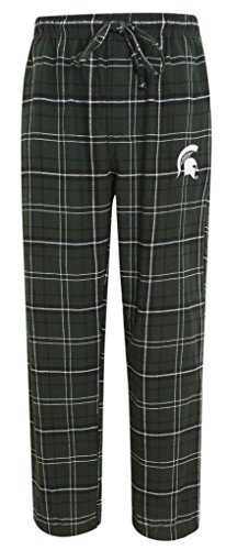 Michigan State Spartans Lounge Pant - NCAA Michigan St Spartans Men's Plaid Pajama Lounge Pants XL 40-42