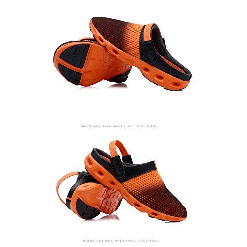 BARKOR Comfort Water Breathable Shoes Orange303 Shoes Aqua Garden Light Womens Mens Unisex Summer Non Slip Outdoor Ultra Clogs Slippers vvr6q