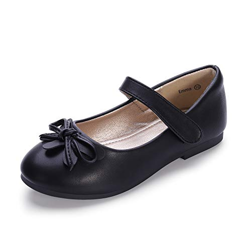Emma Shoes - Hehainom Toddler/Little Kid Girl's Emma Mary Jane Ballet Dress Flats Bows School Uniform Shoes