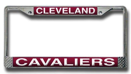 NBA Cleveland Cavaliers Laser Cut Chrome Plate Frame