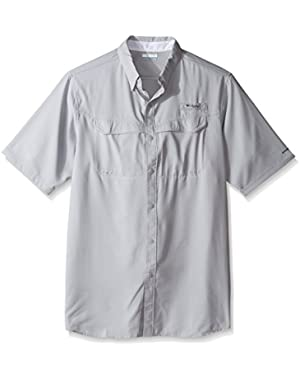 Men's Low Drag Offshore Short Sleeve Shirt, Cool Grey, Large Tall