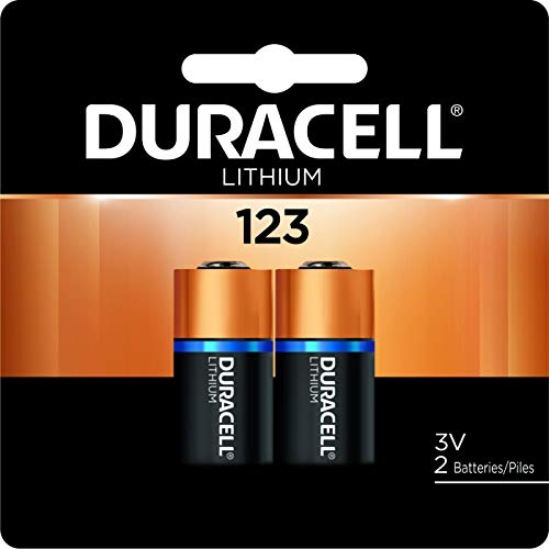 3v Photo Camera - Duracell - 123 3V Ultra Lithium Photo Size Battery - long lasting battery - 2 count