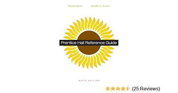 Amazon prentice hall reference guide 9th edition amazon prentice hall reference guide 9th edition 9780321921314 muriel harris professor emerita jennifer l kunka books fandeluxe Images