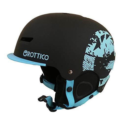 GROTTICO-Ski-Snow-Helmet-for-Kids-Youth-Women-Men-Snowboard-Helmet-Pass-ASTM-Certified-Safety-3-Sizes-Options