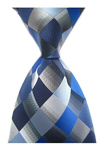 Necktie Silver Grey Necktie - 8