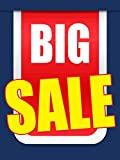 Big Sale Business Retail Display Sign, 18''x24'', Full Color, 5 Pack