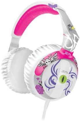 iLuv THP901PNK Tatz Broken Heartz Headphone Pink
