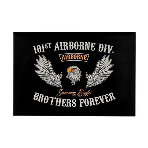CafePress 101St Airborne Brothers Rectangle Magnet, 2