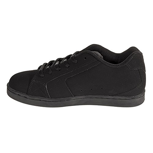 DC Net Black Leather Mens Skate Trainers Shoes Boots-10 wsUTmQw