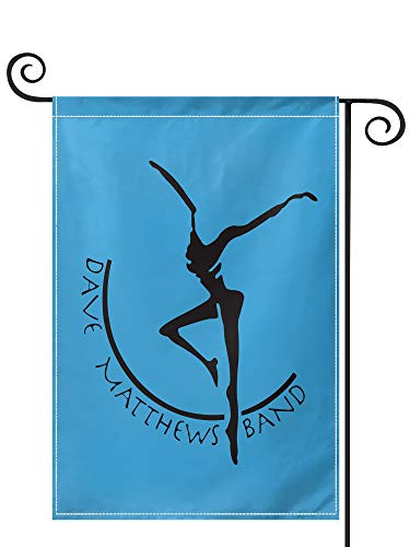 PRUNUS Dave Matthews Band Garden Flag, Vertical Double Sided Premium Material Holiday Weather Resistant Decorative Lawn Flags Outdoor Decor 28