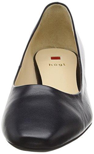 Högl 0- 12 3000 - zapatos de tacón cerrados de cuero mujer azul - Blau (3000)