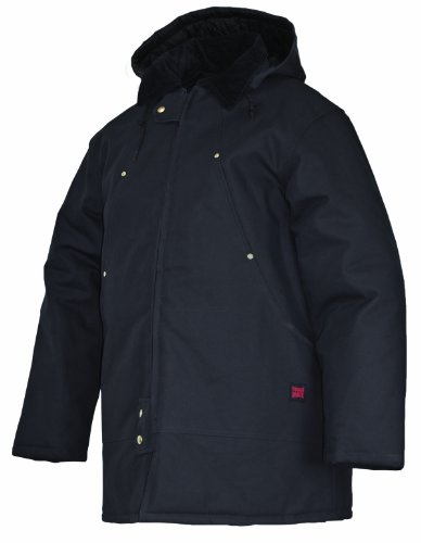 Tough Duck Men's Hydro Parka, Black, X-Large