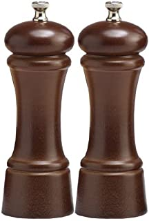 product image for Chef Specialties 6 Inch Elegance Walnut Pepper Mill and Salt Mill Set
