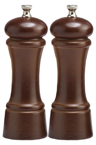 Professional Walnut Pepper Mill (Chef Specialties 6 Inch Elegance Walnut Pepper Mill and Salt Mill Set)