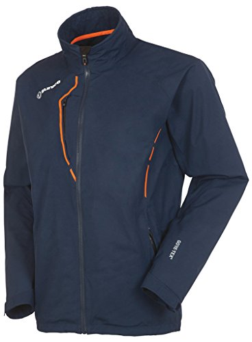 Sunice Apollo Gore-TEX Waterproof Perf Jacket Midnight/Outrageous Orange Lar