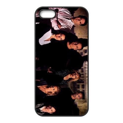 Criminal Minds 002 coque iPhone 5 5S cellulaire cas coque de téléphone cas téléphone cellulaire noir couvercle EOKXLLNCD22969