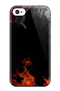 High-quality Durability Case For Iphone 4/4s(fire Design Hd Wide)