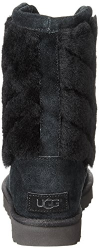 Tania Striped Boots Black Women's UGG Shearling RBwq8BF