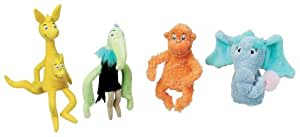 Dr. Seuss Horton Hears a Who Finger Puppet Set