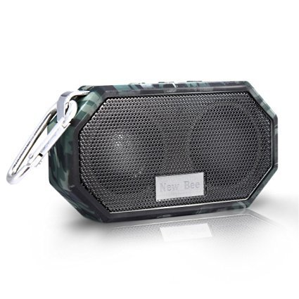 Portable Bluetooth Speakers, Hakey Wireless Outdoor & Shower IP66 Waterproof CRS 4.0 Bluetooth Small Speaker for iPhone 6s plus Samsung S6 edge and Compatible with All Audio Devices - Camouflage