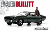 1/18 1968 Ford Mustang GT Fastback(ハイランドグリーン) with Steve McQueen figure「ブリット/HOLLYWOOD SERIES」 12885の商品画像