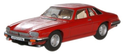 rot Modellauto Fertigmodell Jaguar XJS Oxford 1:76