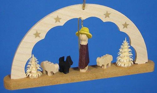 (Richard Glaesser Arch Ornament Shepherd, Germany )