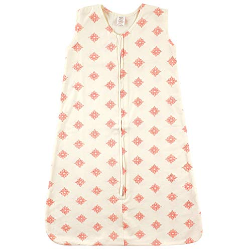 Touched by Nature Baby Organic Cotton Sleeveless Wearable Sleeping Bag, Sack, Blanket, Dainty Rosette, 18-24 Months