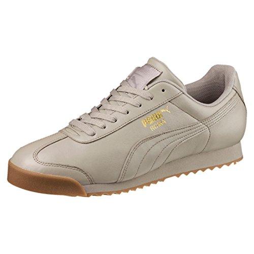 Puma Unisex-voksen Roma Klassiske Sneaker Grå Tyggegummi tSSQE
