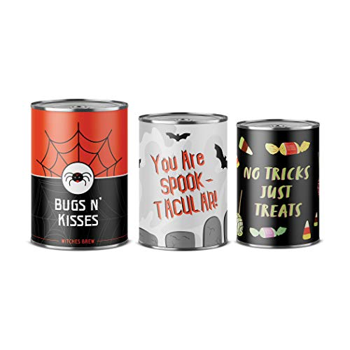 Scaredy Can-O-Grams Gift Cans, Halloween Candy Gift Packaging, Halloween Gift Cans, Unique Halloween Gift Packaging - Gifts of -