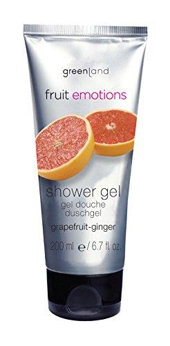 Greenland Fruit Emotions Grapefruit Ginger Shower Gel 200ml Greenland Body