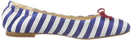 L.k.bennett Damen Thea Pompen Mehrfarbig (blauw / Wit 734)