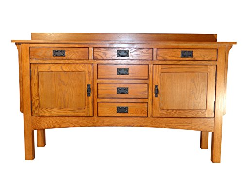 Grand Canyon Collection Solid Oak Top (Mission Oak Server)