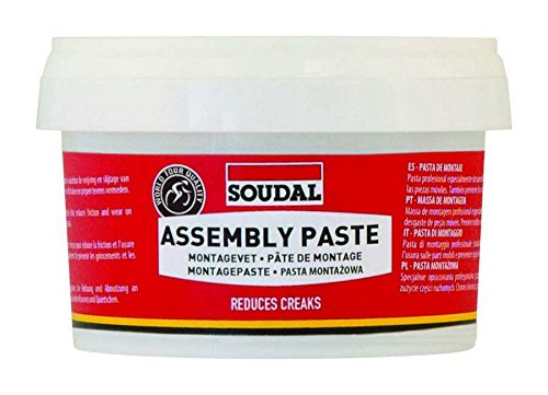 Soudal Assembly Paste Grasso, Rosso, Taglia Unica