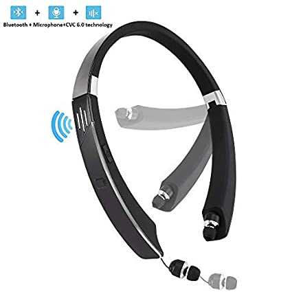 1a7ca5c6228 Bluetooth Headset,with External Speaker, 2 in 1 Wireless Sport Headphone  Speaker V4.